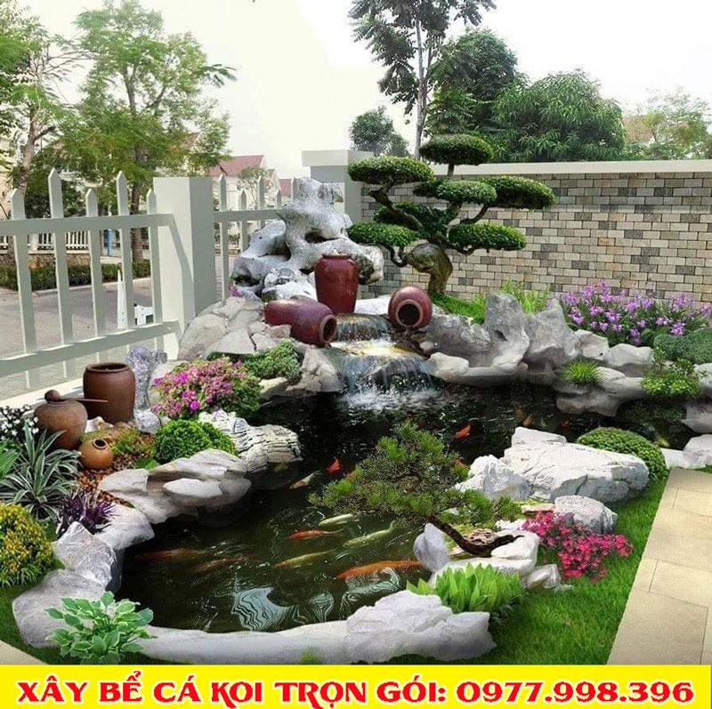 Thiết kế thi công tiểu cảnh sân vườn vĩnh phúc